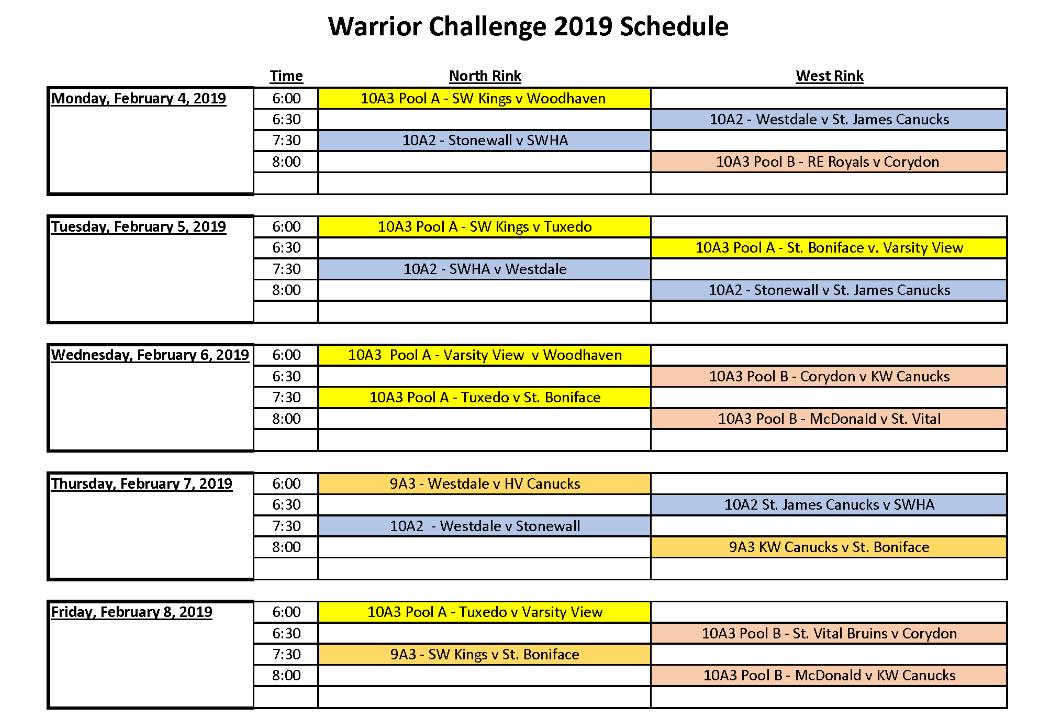 Warrior Challenge 2019 Final Schedule_Page_1